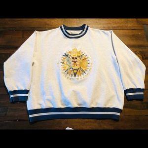 Vintage Walt Disney world tour sweatshirt